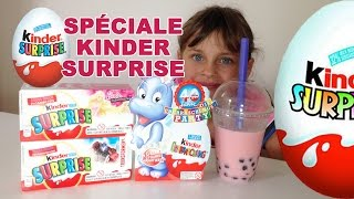 getlinkyoutube.com-[COLIS] Special Kinder Surprise : 11 Oeufs Barbie , Transformers ... - Kinder Surprise Eggs