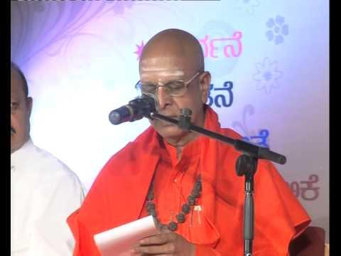 sanehalli panditharadhya swamiji natakothsava blessing speech 02 11 2014