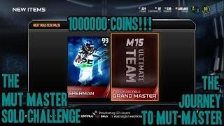 getlinkyoutube.com-MUT 15 MASTER Gameplay | MUT MASTER SOLO CHALLENGE | 99 Sherman