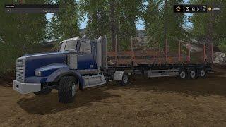 getlinkyoutube.com-Farming Simulator 17- Logging Company- Ep. 1