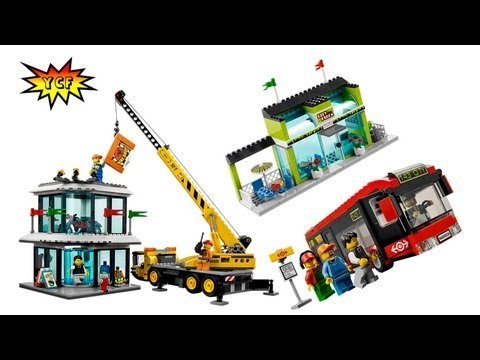 NEW! LEGO CITY Town Square 60026 Summer 2013 Picture Preview