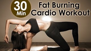 getlinkyoutube.com-30 Min Fat Burning Cardio Workout - Bipasha Basu Unleash 'Full Routine' - Full Body Workout