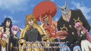 getlinkyoutube.com-Natsu and Lucy vs  Celestial Spirits   Part 1