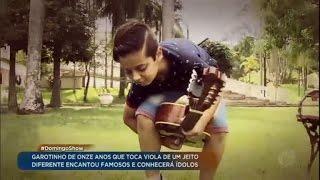 getlinkyoutube.com-Garoto que dá show na viola vai ganhar presente do Sérgio Reis