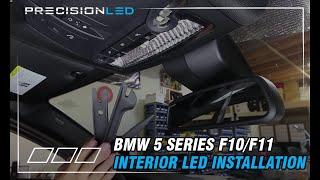 getlinkyoutube.com-BMW 5 Series F10/F11 LED Install - 2010 - Present