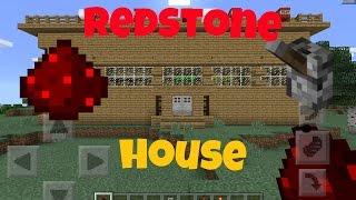 getlinkyoutube.com-Мой механический дом в Minecraft PE 0.15.0.