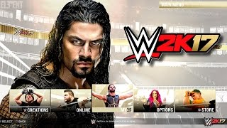 getlinkyoutube.com-WWE 2K17 Demo Notion - Main Menu & Game Modes - PS4/XB1