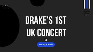 Drake & j. cole live à londres
