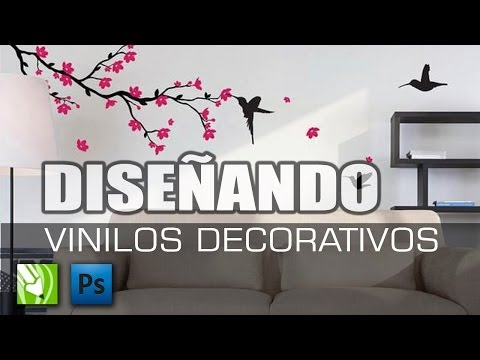 Como diseñar vinilos decorativos