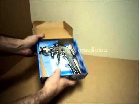 Pistola de Pintura Mod. 25AT Alta Pressão para tanque de pressão - Arprex - SHOPPING DO MECÂNICO