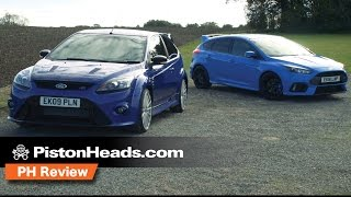 Ford Focus RS Mk2 vs Ford Focus RS Mk3 | PH Review | PistonHeads