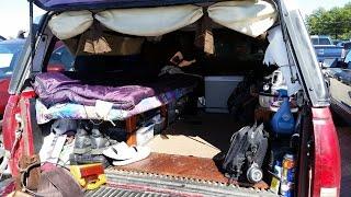 getlinkyoutube.com-Bugout truck bed Camper