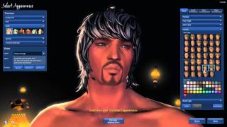 getlinkyoutube.com-Blade & Soul - Jin Male Assassin Character Creation