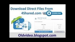 Direct download 4shared files without registration.mp4
