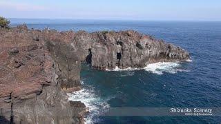 getlinkyoutube.com-静岡県伊東市の城ヶ崎海岸 Jogasaki Coast, Izu JAPAN