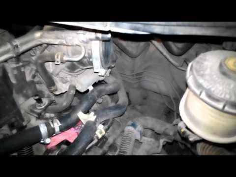 Промывка радиатора отопителя Honda Civic 4D