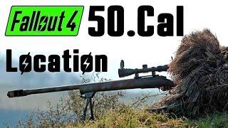 getlinkyoutube.com-Fallout 4: Where to get a Strong Sniper (Unique 50.Cal)