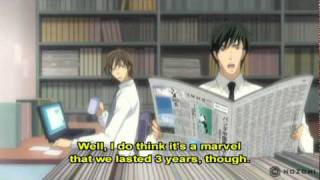 Junjo Romantica Season 1 Episode 5 (Sub): Meeting Is the Beginning of Parting