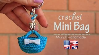 getlinkyoutube.com-Tutorial: crochet miniature bag