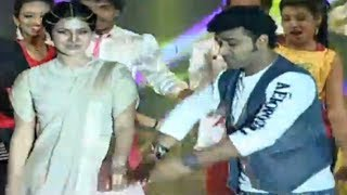 getlinkyoutube.com-DSP Live Performance & Dance with Samantha - Alludu Seenu Audio Launch