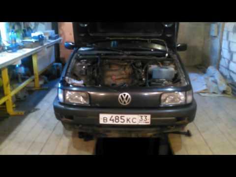 Сгорел клапан VW Passat b3