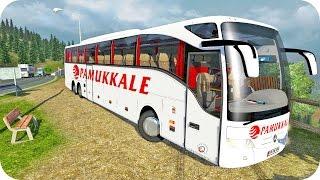 getlinkyoutube.com-Mercedes Benz Tourismo Bus ETS2 (Euro Truck Simulator 2)