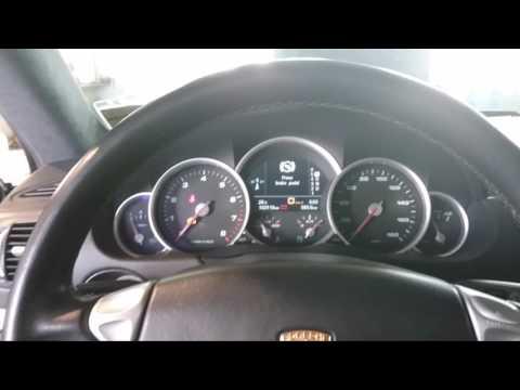 20170411PORSCHE 2004 2009 CAYENNE9PA Steering angle sensor Calibration