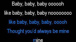 getlinkyoutube.com-Justin Bieber & Ludacris - Baby (Karaoke)