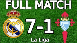 Real Madrid VS Celta Vigo 7-1 FULL MATCH 720p 05.03.2016 (La Liga) (ENGLISH COMMENTARY) width=