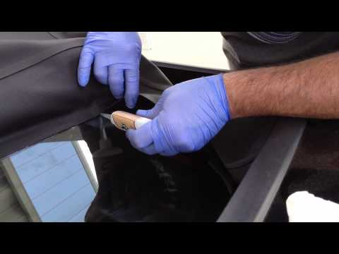 Ford Mustang Convertable top repair 2005 Part 3