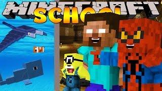 getlinkyoutube.com-Minecraft School : AQUARIUM FIELD TRIP - SHARKS, WHALES & MORE!
