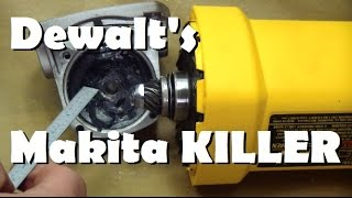 getlinkyoutube.com-Bored of lame tool reviews? Meet DeWalt's 12 Amp Grinder part A