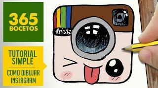 getlinkyoutube.com-COMO DIBUJAR LOGO INSTAGRAM KAWAII PASO A PASO - Dibujos kawaii faciles - draw Logo Instagram