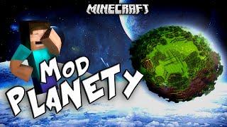 getlinkyoutube.com-PLANETY W MINECRAFT?! - Planetoid Mod