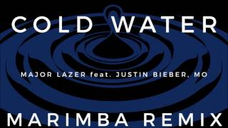 getlinkyoutube.com-Major Lazer, Justin Bieber - Cold Water Marimba Remix Ringtone