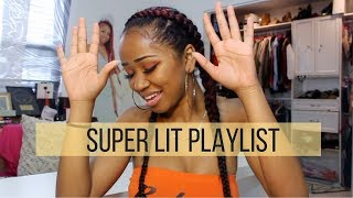 MY SUPER LIT PLAYLIST | dymondheartsbeauty
