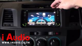 getlinkyoutube.com-2DIN TOYOTA  VIGO & VIGO CHAMP CNG เครื่องเสียงรถยนต์ โตโยโต้า วีโก้ แชมป์