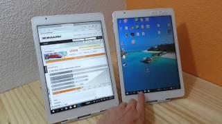 getlinkyoutube.com-Teclast X98 Pro X5 Z8500 Vs X98 Plus X5 Z8300 Comparison