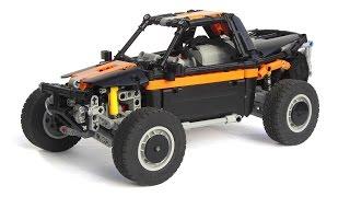 getlinkyoutube.com-LEGO Technic Baja Racing Buggy