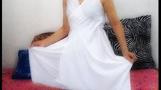 getlinkyoutube.com-Como fazer um lindo vestido em dois minutos e sem costura