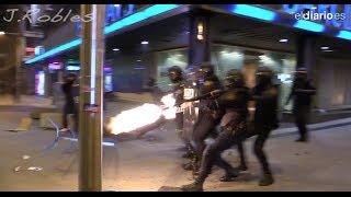Quasi-guerre civile en Espagne : des images que les médias français ne vous montreront pas