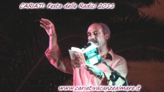 Cariati Carmine abate e Cataldo Perri (1)  nella festa delle radici 2011.wmv