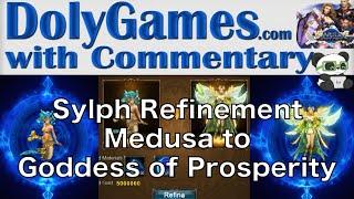 ➜ Wartune Sylph Refinement | 2nd Wind Evolution - Medusa to Goddess of Prosperity
