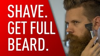 getlinkyoutube.com-Shave for a Thicker Beard | Eric Bandholz