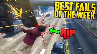 TOP 10+ DEATHS & FAILS OF THE WEEK IN GTA 5! (Brutal & Funny Deaths) [Ep. 61]