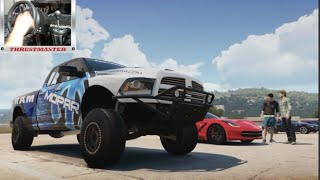 getlinkyoutube.com-Forza Horizon 2 Lets Play Ep5 Ram Runner Build w/Thrustmaster Wheel Cam (XB1)