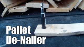 getlinkyoutube.com-Pallet Wood De-Nailer