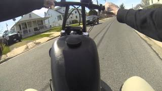 getlinkyoutube.com-CRASHING my Harley-Davidson Sportster bobber