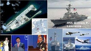 getlinkyoutube.com-挑戰新聞軍事精華版--美軍艦無預警駛入「永暑礁」12海哩,挑戰中國南海主權 ?