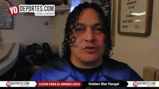 Golden Star Rangel lucha por el Gringo Loco en Eagles Club